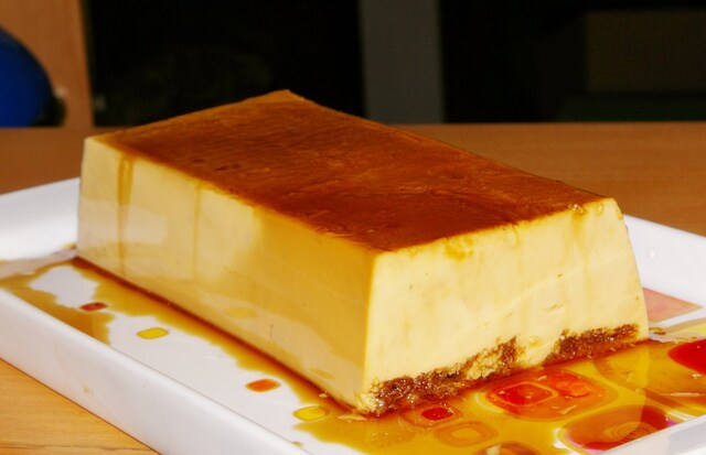 FLAN DE CAFE RAPIDO Y FACIL. Coffee flan fast and easy.