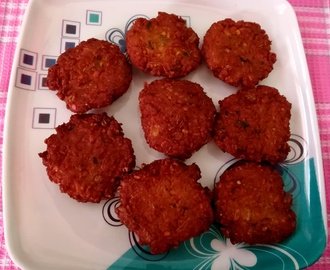 masala vada recipe, how to make masala vada recipe? paruppu vadai
