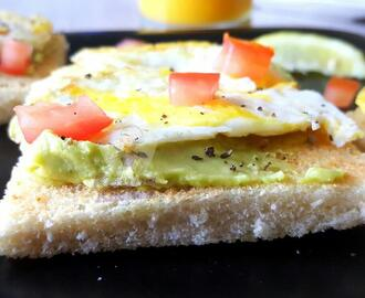 Avocado Egg Sandwich