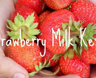 Second Fermentation Strawberry Milk Kefir yogurt (Raw)