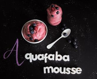 Aquafaba Mousse | 3 Zutaten | vegan