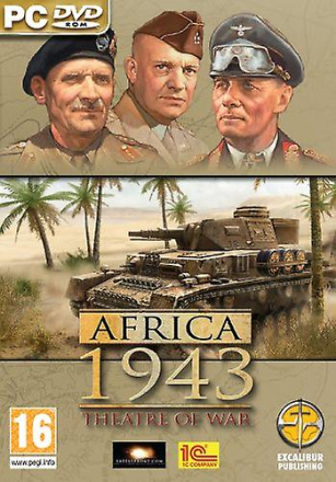 Theatre of War Afrika kår (PC CD)