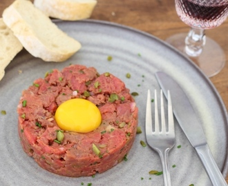 Steak tartare van Ron Gastrobar Paris
