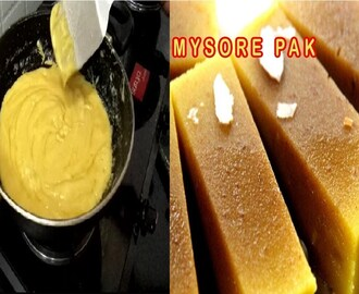 Mysore pak Sweet Recipe In Tamil|Ghee (Nei Mysore Pak|Diwali Sweet Recipe Youtube (நெய் மைசூர் பாக்)