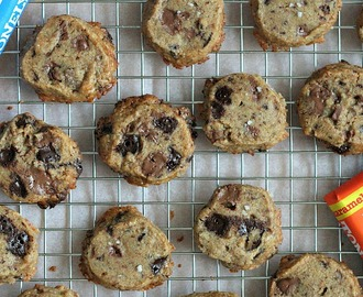 RECEPT: salted caramel chocolate chunk shortbread koekjes - This Girl Can Cook