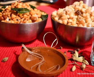 Boondi - tiny little sweet and savory pearls, a perfect Deepavali treat
