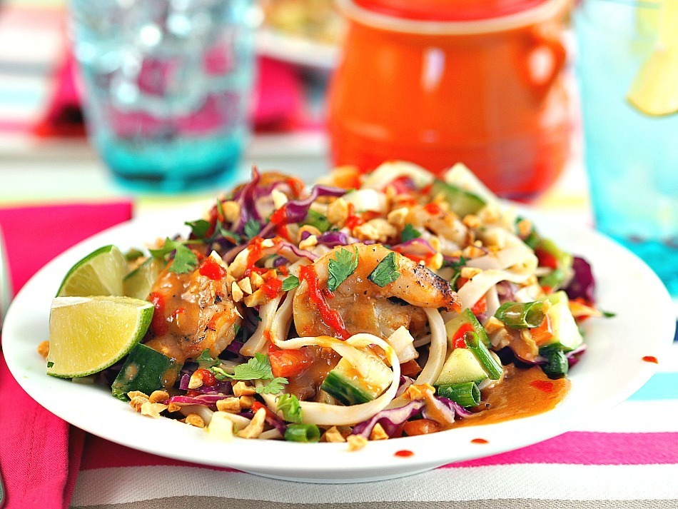 Asian Summer Noodle Salad