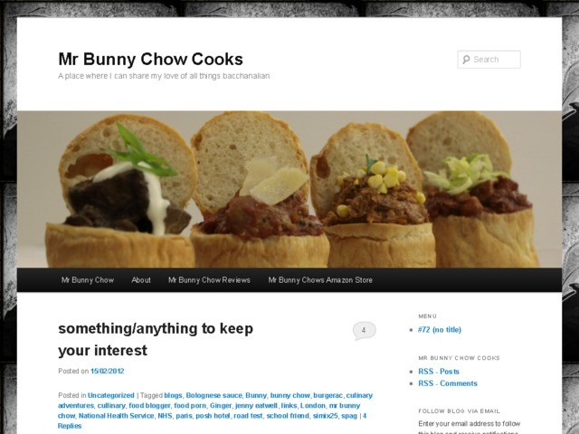 Mr Bunny Chow Cooks