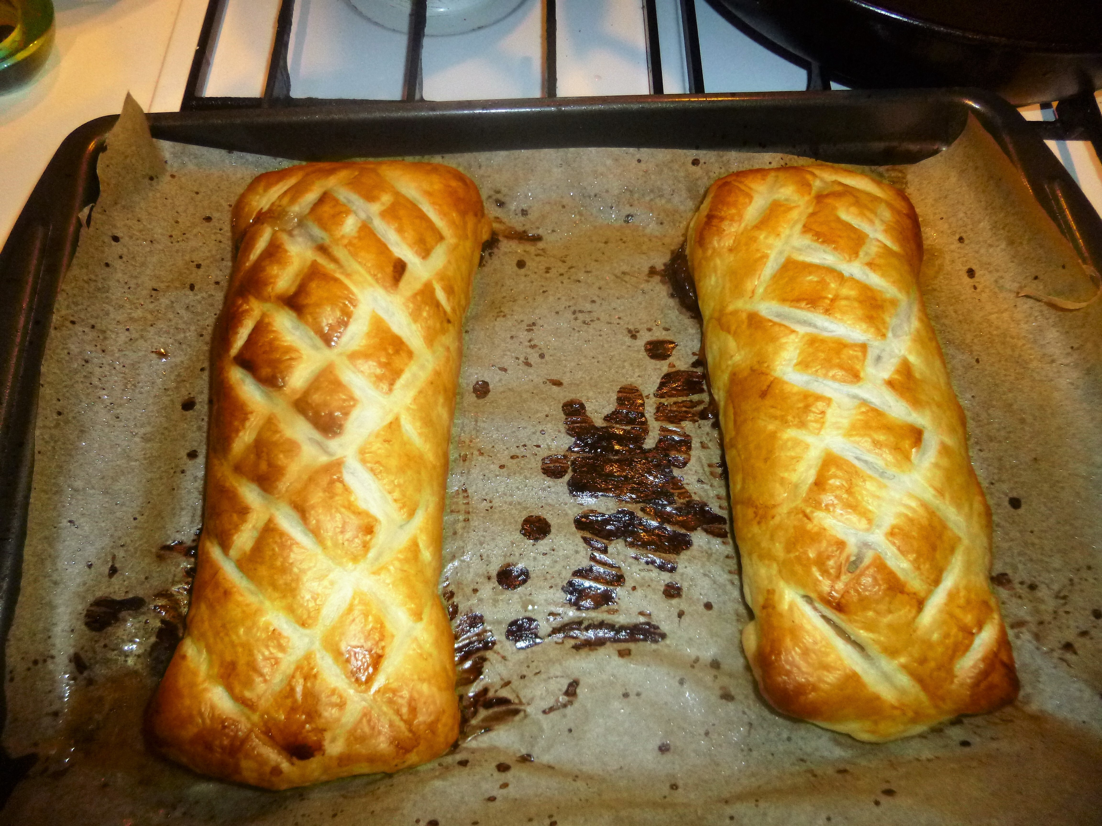 Individual Pork Fillet Wellington's Recipe