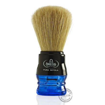Omega 10077 Ren Bristle Shaving Brush