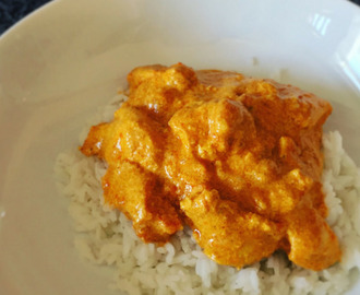 Butter Chicken Curry for the Whole Family to Enjoy