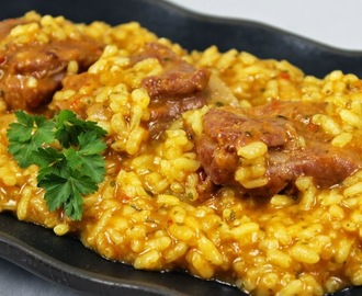 Arroz meloso con costillas Thermomix