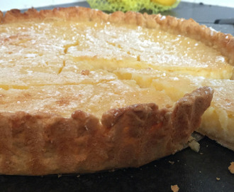 Hunky Husband's Lemon Tart