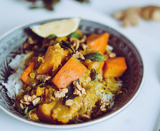 Rezept: Kürbis-Curry (vegan)
