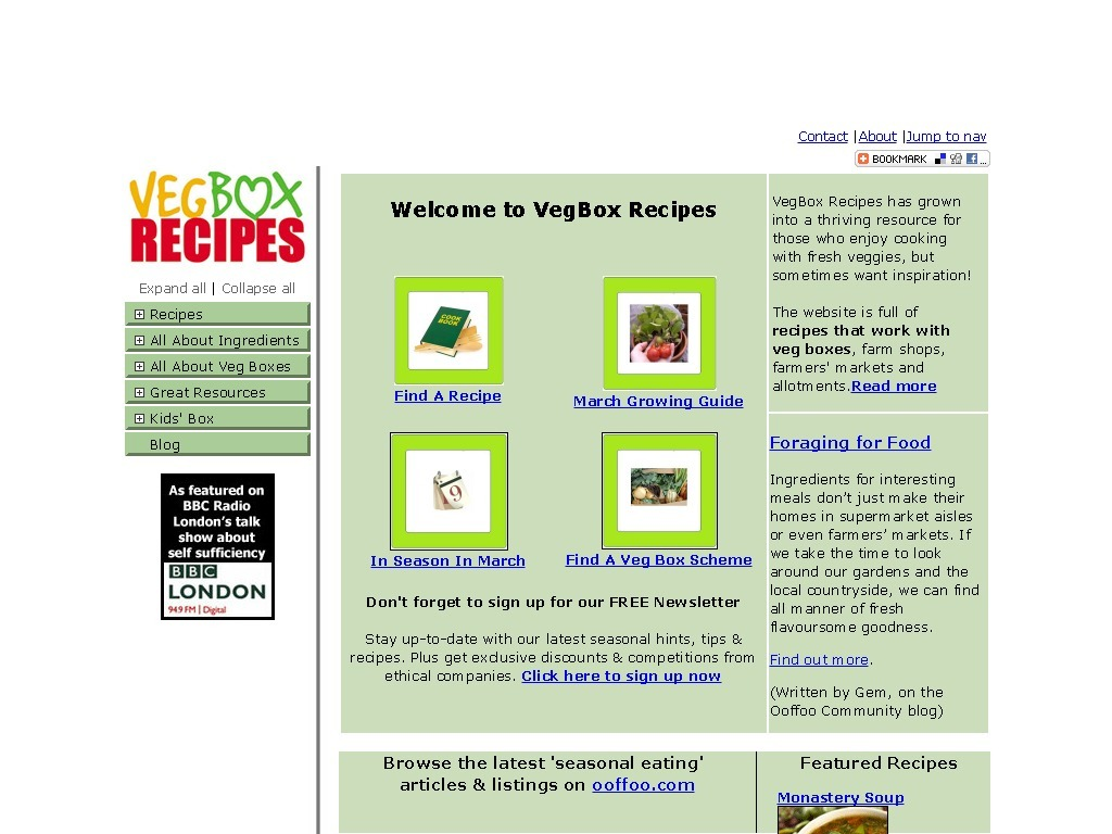 Vegbox-recipes.co.uk