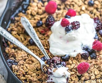 Triple Berry Crisp