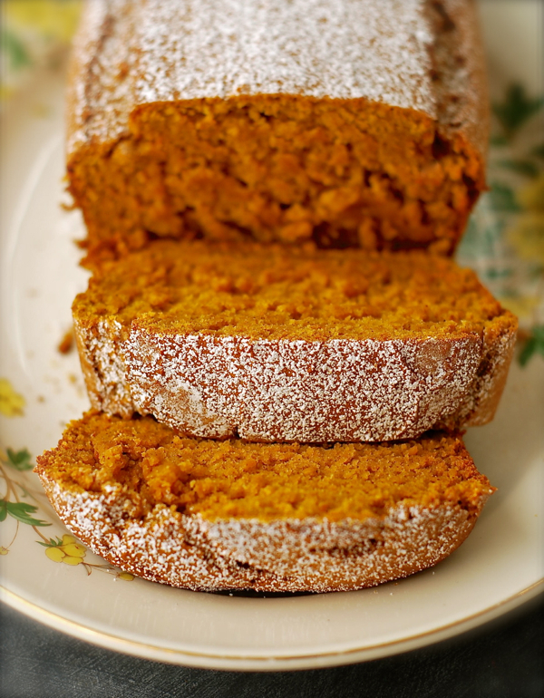 vanilla pudding pumpkin bread