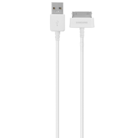 Samsung original tab / tab 2 / note kabel ecb-dp4awe - vit