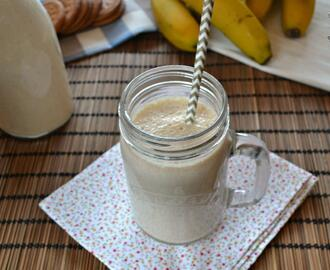 Smoothie de plátano y galletas