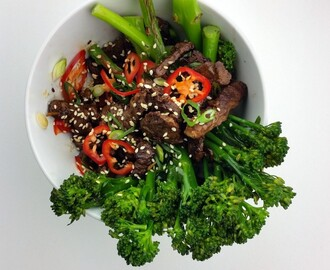 Beef Stir Fry with Tenderstem Broccoli