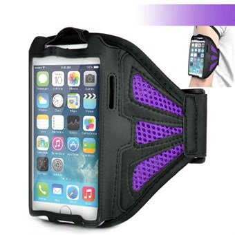 Meshi Armband för iPhone 6 Plus / iPhone 6s Plus / iPhone 7 Plus / iPhone 8 Plus - Lila
