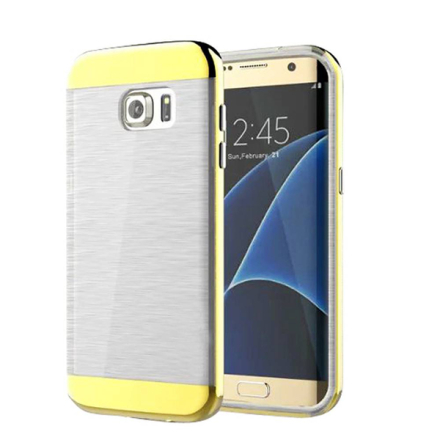 Samsung galaxy s7 edge armor duo skal tpu mix pc guld