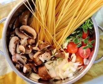 One pot pasta – vegan style