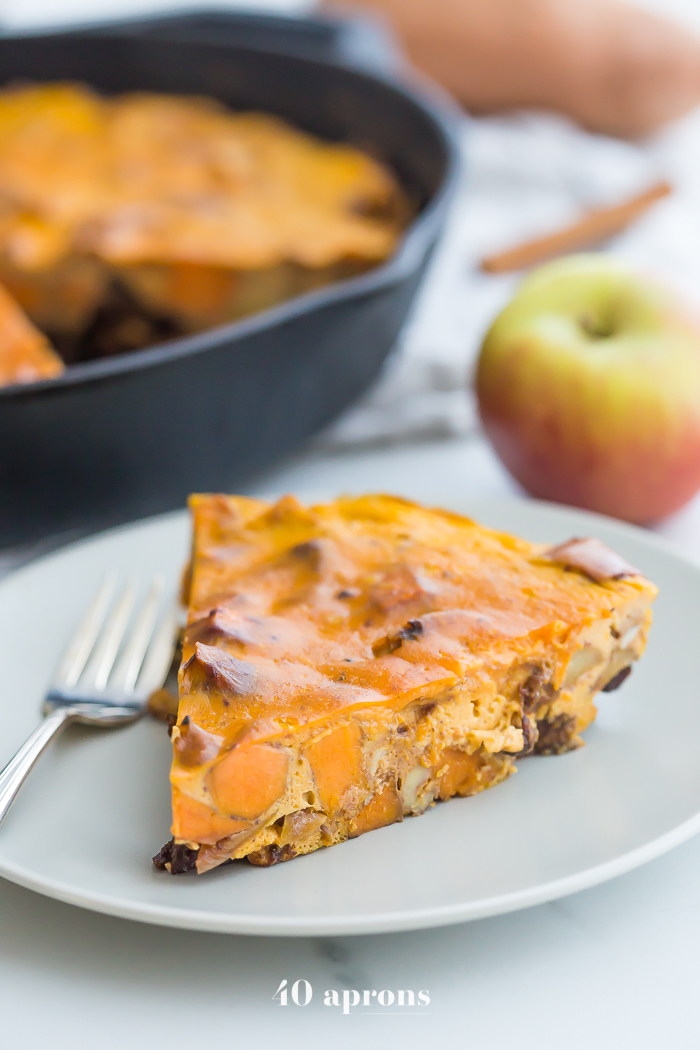Whole30 Pumpkin Breakfast Bake (Sweet Potato, Apple, Vanilla Bean) | Paleo