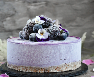 Blueberry mini cheesecake