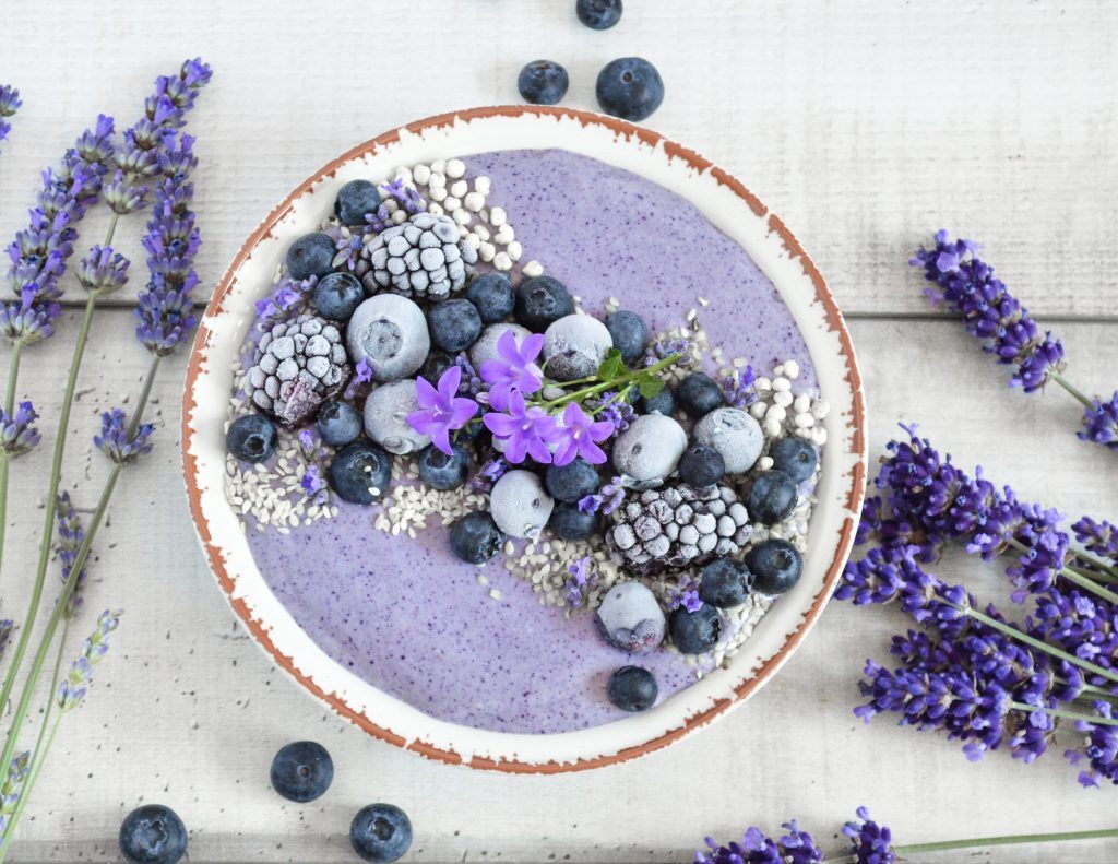 Creamy blueberry smoothie – Rainbow in my kitchen