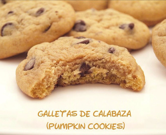 Galletas de calabaza (Pumpkin cookies)