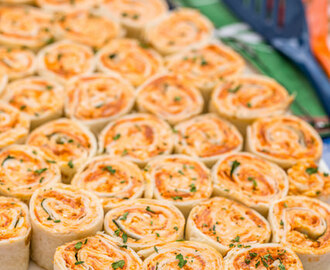 Pizza Pinwheels - FOOTBALL FRIDAY