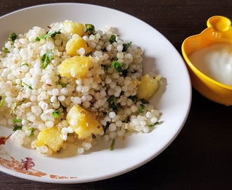 Sabudana Khichdi – How to Make Sabudana Khichdi