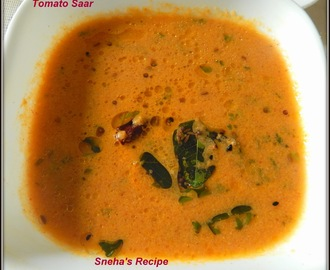 Tomato Saar - A Soup of Maharastra  #Soupswappers