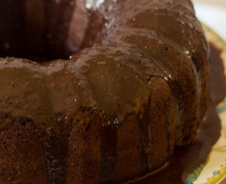 Chocolate Coconut Cream Cheese Bundt Cake
