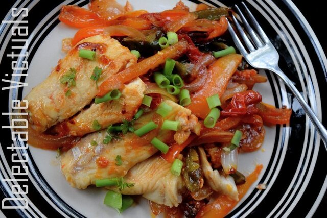 Halibut Stir-fry