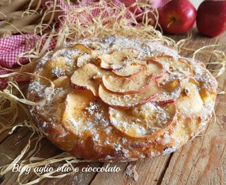 TORTA DI MELE ALL'ACQUA