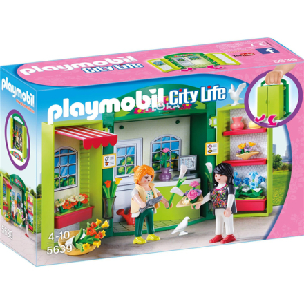 Playmobil city life, florist