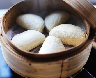 Easy Chinese steamed buns