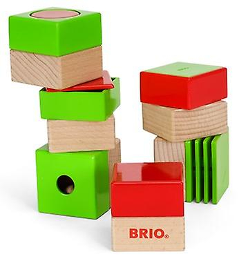 BRIO sensoriska block 30436 Infant Toddler leksak med 6 ppieces åld...