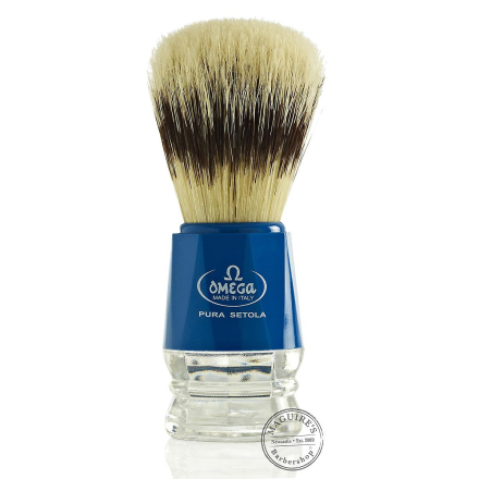 Omega 10218 Ren Bristle Shaving Brush