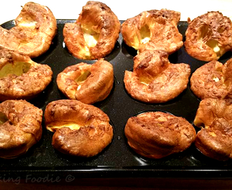 Gorgeous Gluten Free Yorkshire Puddings (Lactose Free Option)