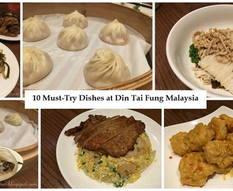 10 Must-Try Dishes at Din Tai Fung Malaysia