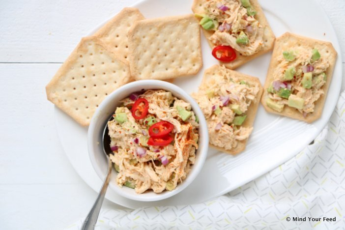 7 x salades voor op brood of toastjes