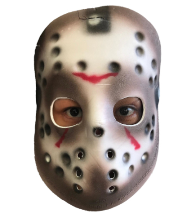 Jason Voorhees Friday The 13th skräck Killer licensierad Eva Mens C...