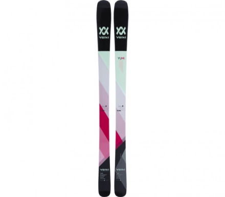 Völkl - Yumi freeride skis (black/green) - 154