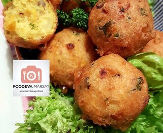 SWEETCORN BHAJIAS/FRITTERS