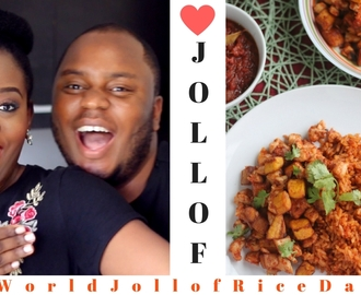 PERFECT JOLLOF RICE | CHEF FREGZ x SISIYEMMIE | #WorldJollofRiceDay