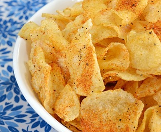 Spiced Up Potato Chips