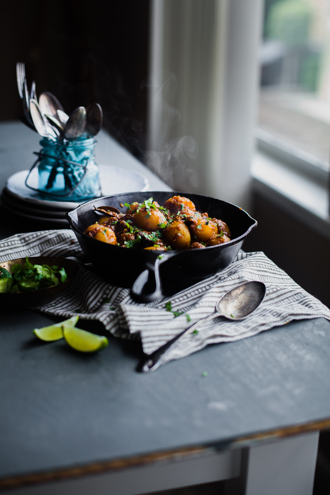 Bengali Aloo Dum (Spiced Baby Potatoes)